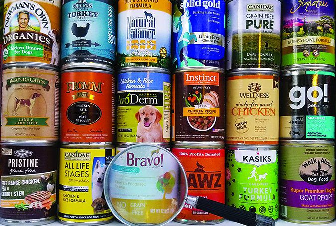 the best canned dog food