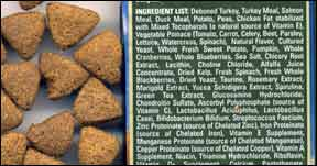 Words Matter When Reading Dry Dog Food Labels – But Not All The Time