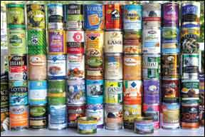 Whole Dog Journal's 2011 Canned Dog Food Review