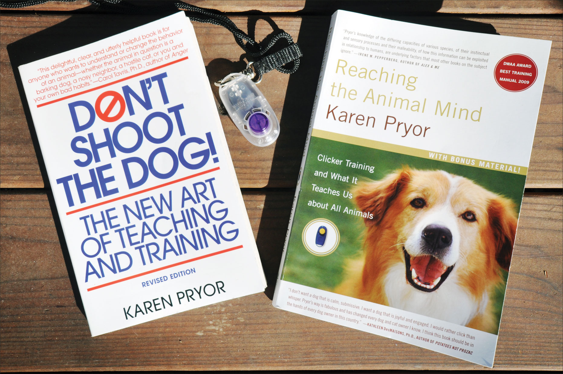 Karen Pryor: Positive Training Icon