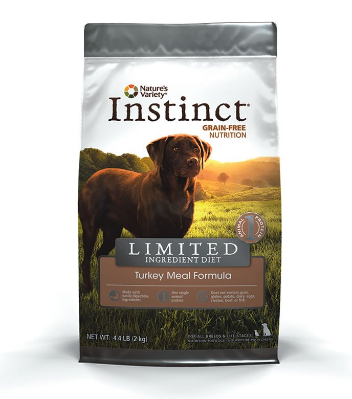 Instinct allergy dog food