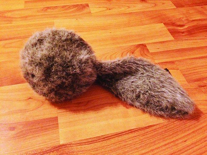 Doggie Tail dog toy