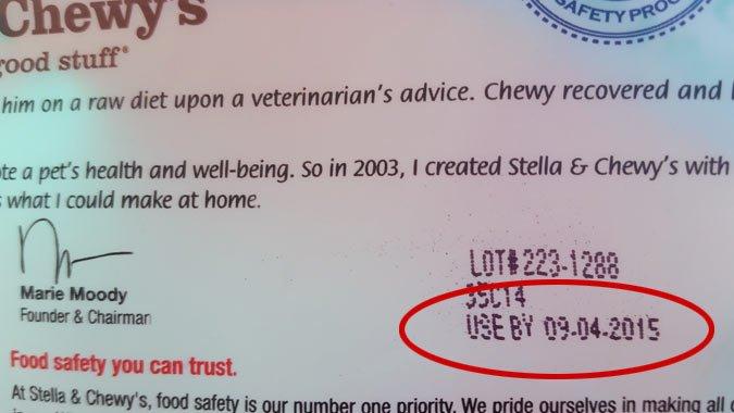 Dog Food Expiration Date
