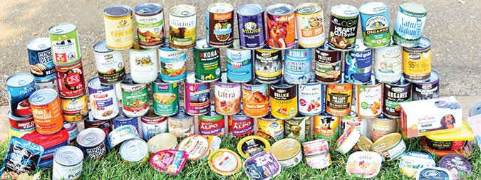 canned dog food varieties