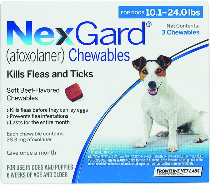 nexguard flea control