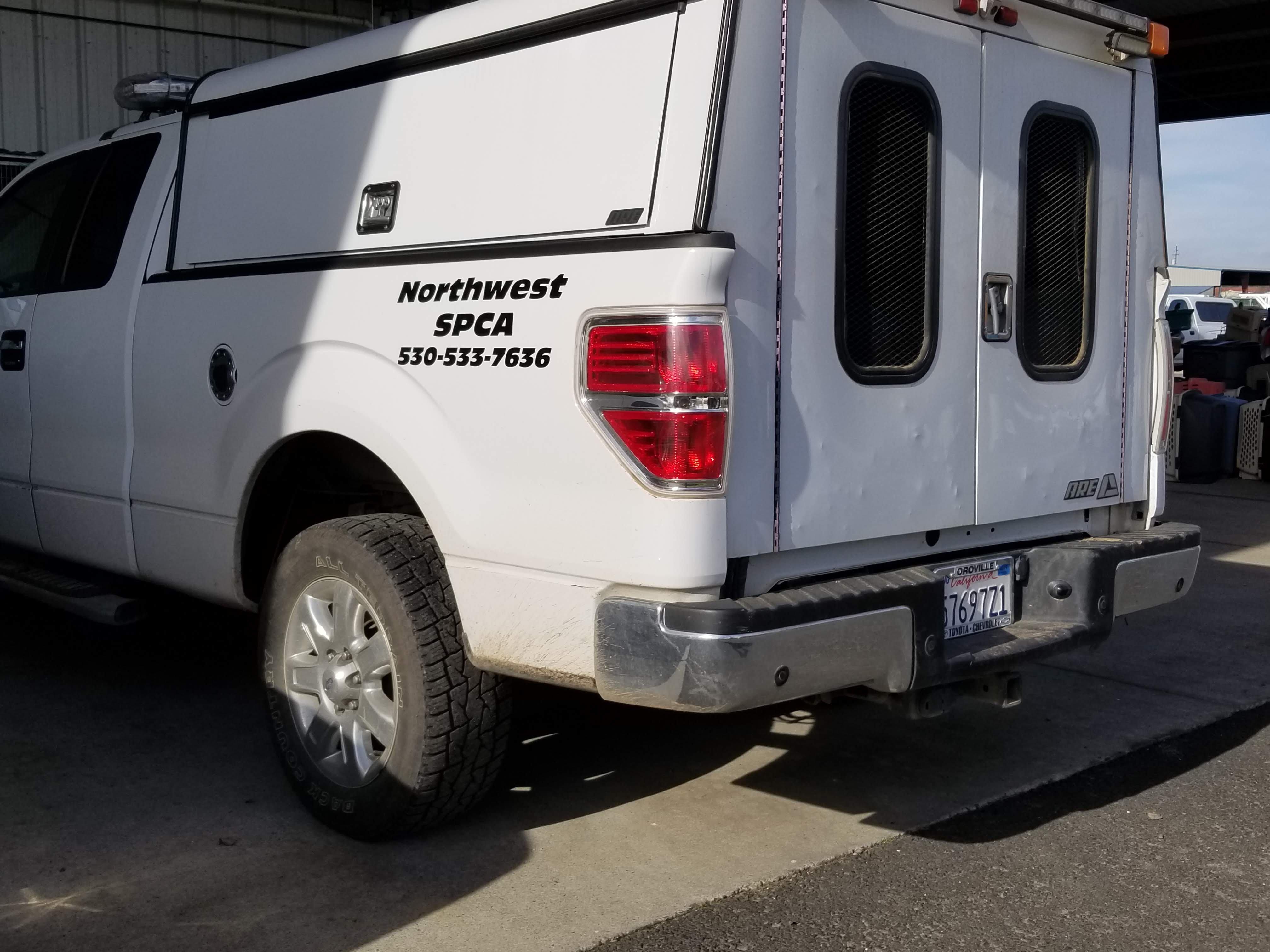 northwest aspca truck
