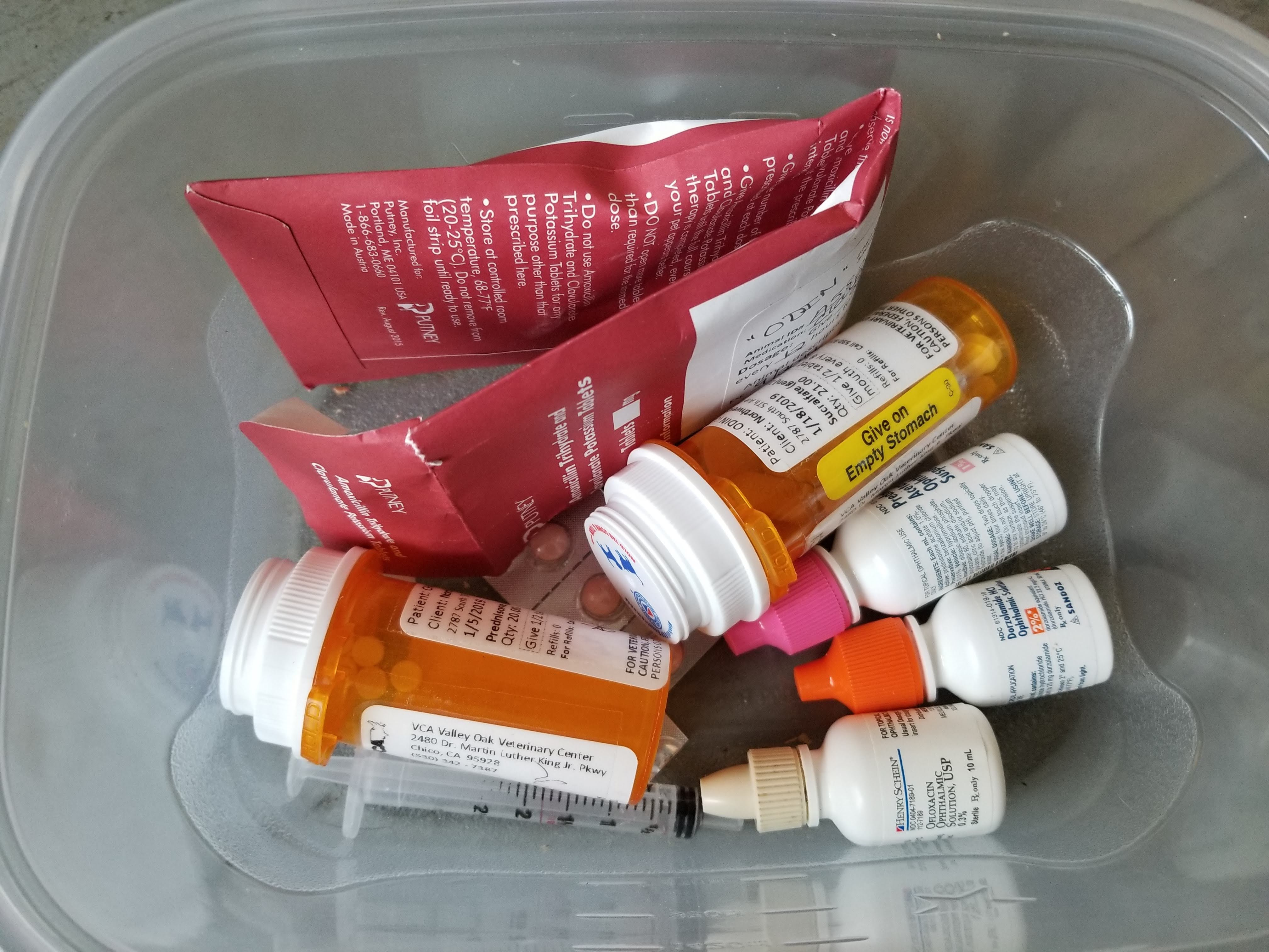 MEDICATIONS FOR DOGS