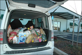 SPCA Dog Food Donations