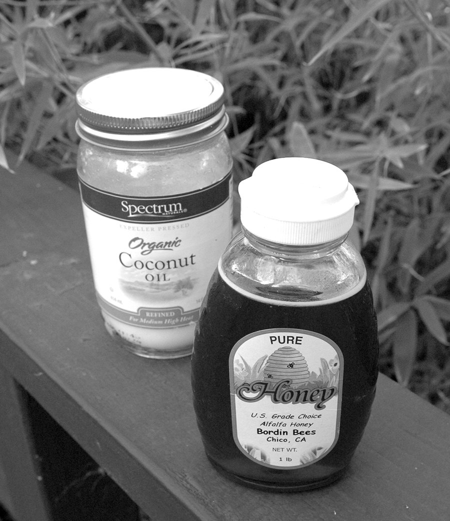 Honey and Coconut Oil immunity boosters