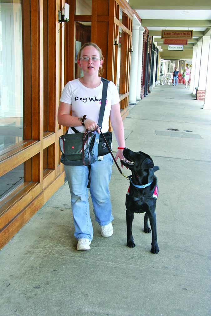 Service Dog of Virginia training