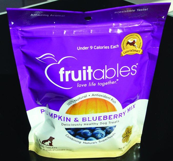 fruitables dog treats