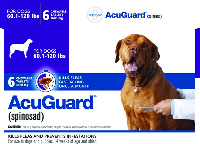 Prescription Oral Flea Control Medication for Dogs - Whole