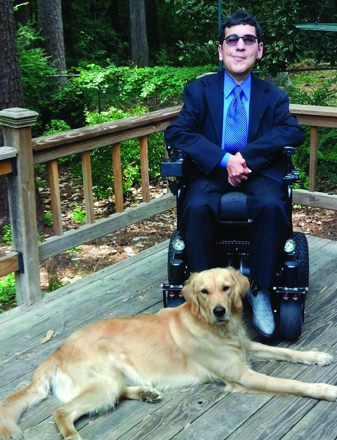 service dog and handler
