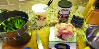 calcium in homemade dog food