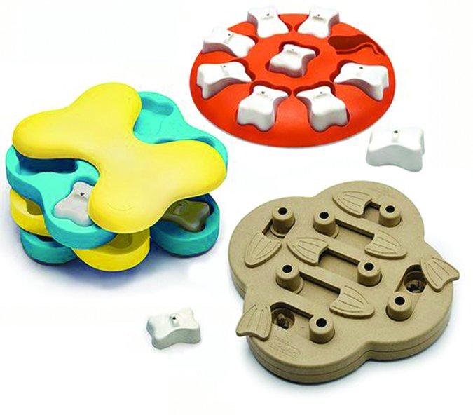 Nina Ottosson dog puzzles