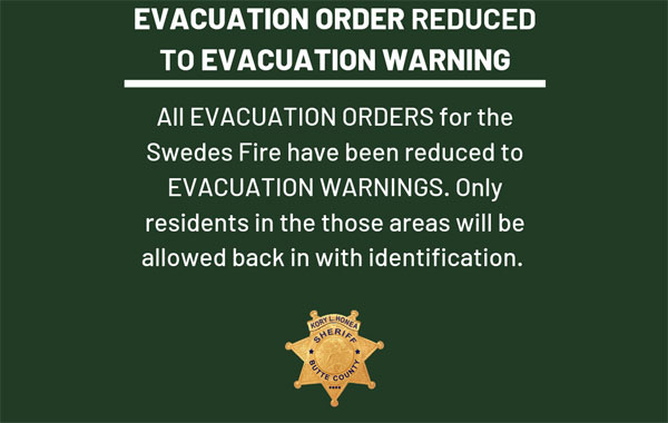 fire evacuation order