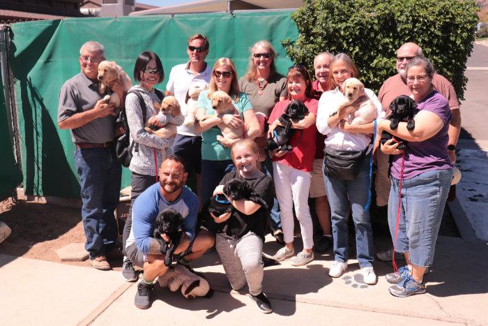Giving them Forward: Raising a Service Dog Puppy